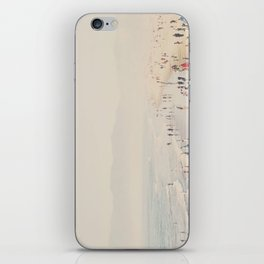 standing on the top of the world ... iPhone Skin