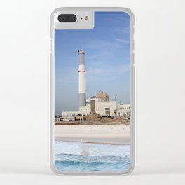 Tel Aviv photo - Reading power station Clear iPhone Case