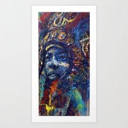 Lil Chief Art Print