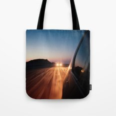 4x4 Sunset Drive Tote Bag