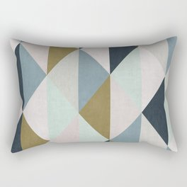 Triangle Pattern IV Rectangular Pillow