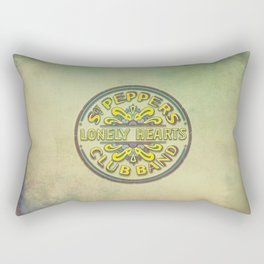 Sgt. Pepper's Lonely Hearts Club Band Rectangular Pillow