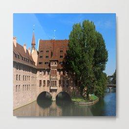 Old Architecture  Nuremberg Metal Print