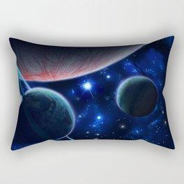 Three Planets Rectangular Pillow