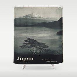 Vintage poster - Japan Shower Curtain