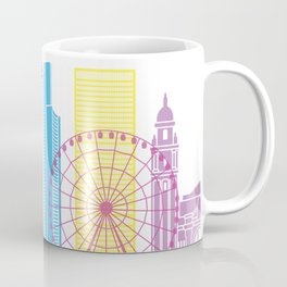 Seattle V2 skyline pop Coffee Mug