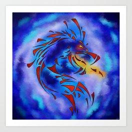 Glenfbach V1 - mystic dragon Art Print