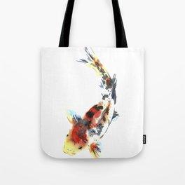 Watercolor design. Koi fish. Japanese style. Tote Bag