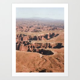 Canyonlands, Utah Art Print