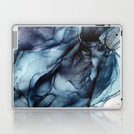 Blush and Darkness Abstract Paintings Laptop & iPad Skin