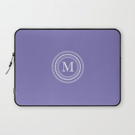 The Circle of  M Laptop Sleeve