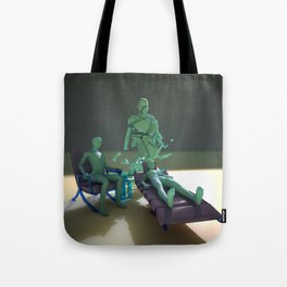 Freudian Free Association Tote Bag