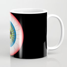 Radioactive Eye Coffee Mug