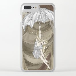 Midnight Circus: the Acrobats Clear iPhone Case