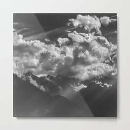 Between Rays Metal Print