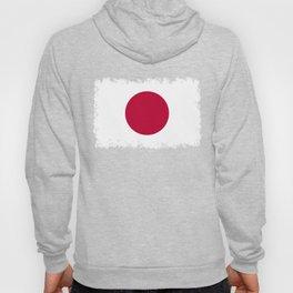 Flag of Japan, High Quality Image Hoody