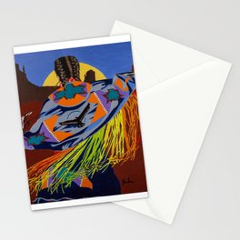 Shaw Dancer #3 Square Stationery Cards