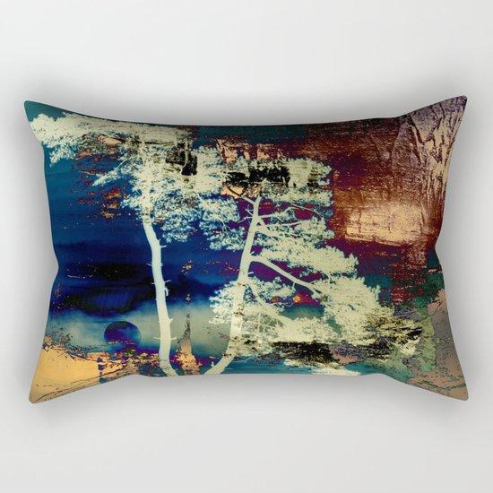 the tree Rectangular Pillow