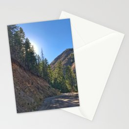 Light the Way - Red Mountain, Glenwood Springs, CO Stationery Cards