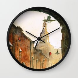 A view on St Anne Street Wall Clock