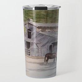 Old Horse Barn Travel Mug