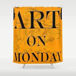 ART ON MONDAY Shower Curtain