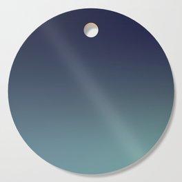 NIGHT SWIM - Minimal Plain Soft Mood Color Blend Prints Cutting Board