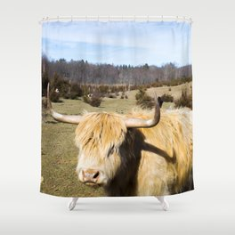 All Knowing Shower Curtain