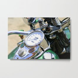 Motorcycle Metal Print