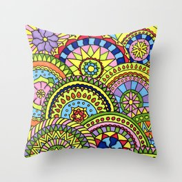 Wheels of fortune Throw Pillow