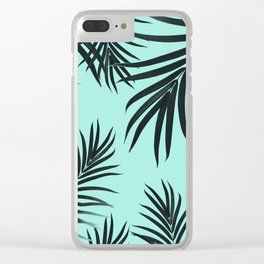 Palm Leaves Pattern Summer Vibes #7 #tropical #decor #art #society6 Clear iPhone Case