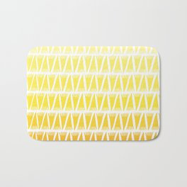 Tee Pee Yellow Gradient Bath Mat