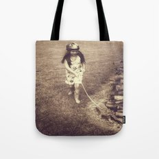 Alice and Dinah Tote Bag