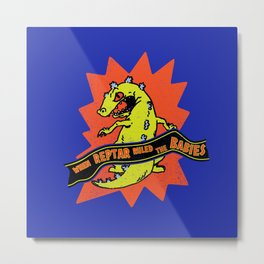 When Reptar Ruled The Babies Metal Print