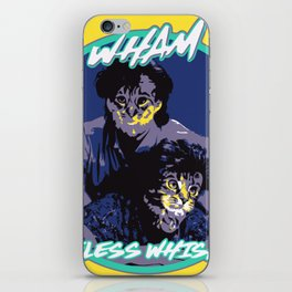 WHAM CARELESS WHISKERS iPhone Skin
