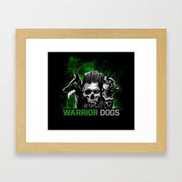 Warrior Dogs Framed Art Print