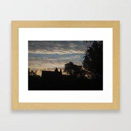 Good morning chicago Framed Art Print