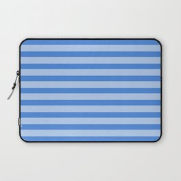 Blue Stripes - Two-Toned Laptop Sleeve