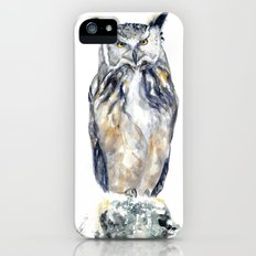 A Serious Owl iPhone (5, 5s) Slim Case