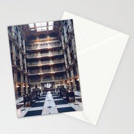 The George Peabody Library Stationery Cards