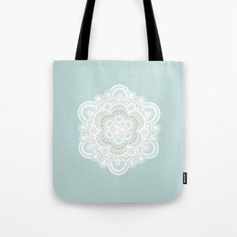 Floral Lace I Tote Bag