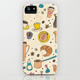 Spicy coffee iPhone Case