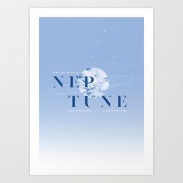 Neptune Art Print