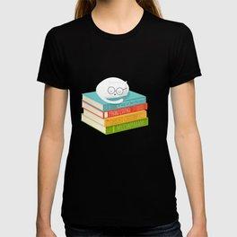 The Cat Loves Books T-shirt