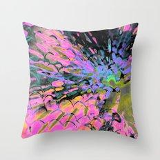 pink.HananaS Throw Pillow