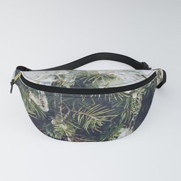 Tree in ice Fanny Pack