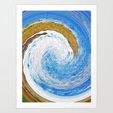wave 23 Art Print