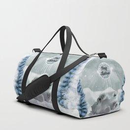 Cute polar bear baby Duffle Bag