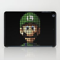 luigi iPad Cases featuring Pictodotz - Luigi by dudsbessa