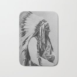 Chief Sitting Bull Bath Mat